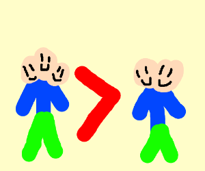 3 headed people are better than 2 headed peopl