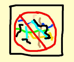 No scribbles