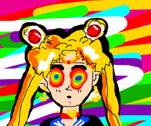 Sailor moon on LSD