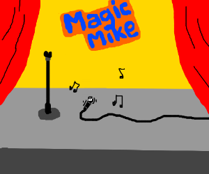 Magic Mike Poops While Dancing