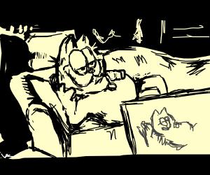 Garfield is Jack's love interest on Titanic