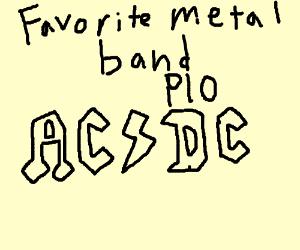 Favorite metal band PIO