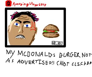 Angry youtuber