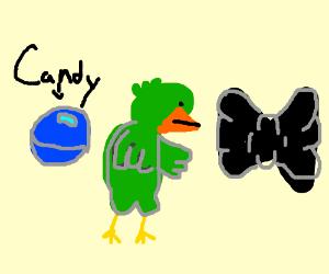 CANDY BIRD BOWTIE!