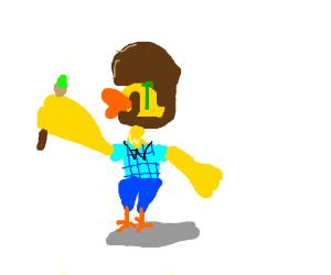 Bob Ross the Duck