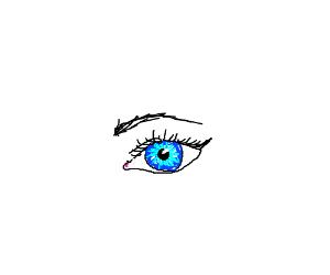 Very realistic eye