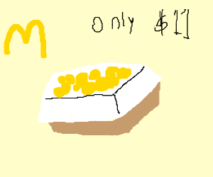 Mcdonalds Nugget box cost ONLY 11 dollars