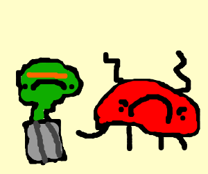 Grouchy crab