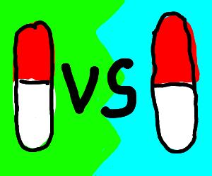 pill vs pill