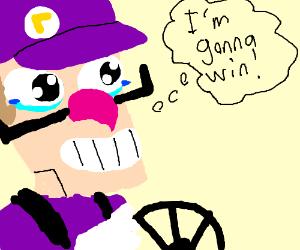 Waluigi thinks he's gonna win