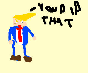 trump saying you did that