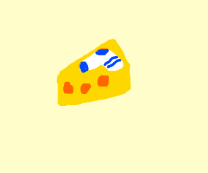Cheese Covered in a Sock