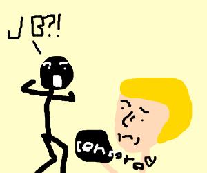 Random dude meets Justin Beiber