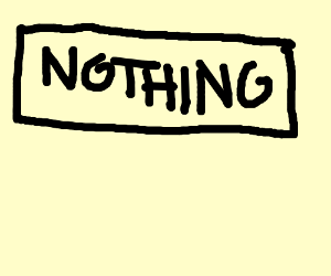 Nothing (Just leave it empty)