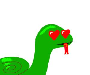 Love-struck Snake
