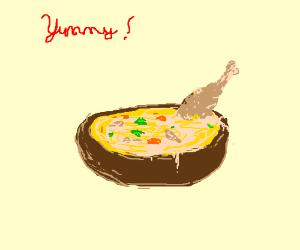 yummy chicken soup