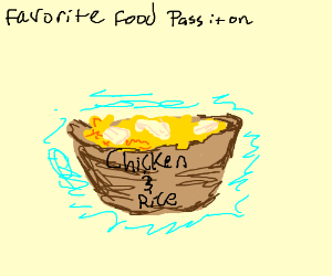 Favorite Food P.I.O (Pass It On)