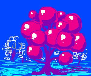 Bubble Gum Tree