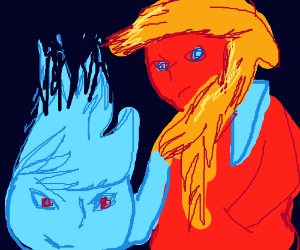 Icy Fire and Fiery Ice