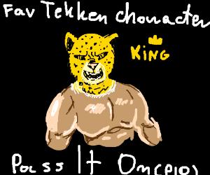 Fav Tekken Character Pio (Sergei Dragunov)