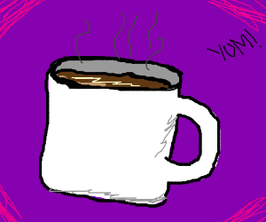 delicious cup of coffee