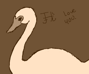 """Swan teaches """"Iloveyou"""" in Japanese/Chinese"""
