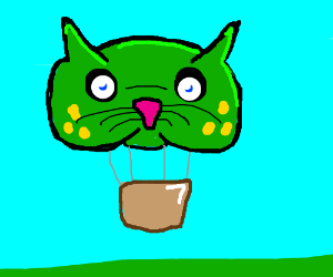 Frog cat balloon thing
