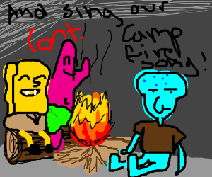 lets gather by the campfire (cont.)