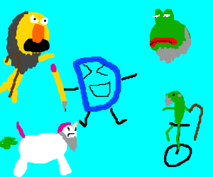 Drawception finds old memes hilarious