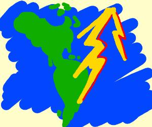 uh, lightning, has, flash, red, uhauh, AMERICA