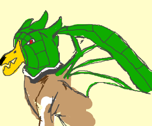 The lovechild of a dragon and mallard