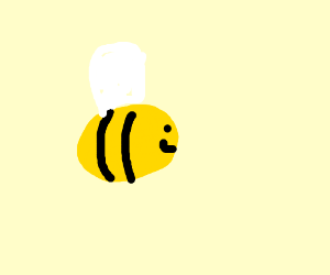 mighty strong bee