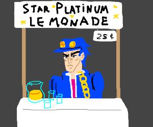 Jotaro's Lemonade Stand