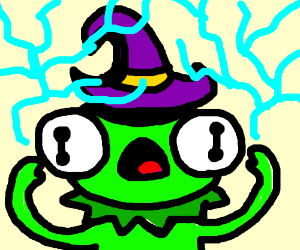 kermit the frog is a wizard
