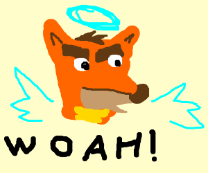 """Woah"" Crash Bandicoot Meme"