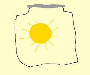 Sun in a jar