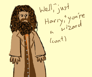 I'm not a Wizard. I'm just Harry. (Cont.)