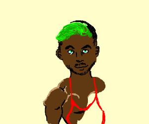 If jackcypticeye was black and wrestled