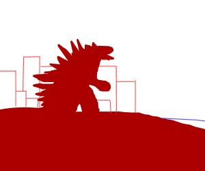 Red Godzilla