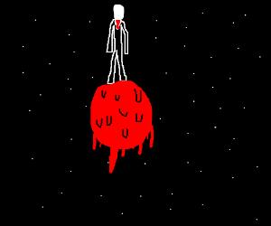 Slenderman in Space