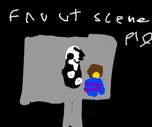 Fav Undertale scene PIO