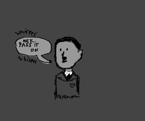 When Hitler whispers to you PIO