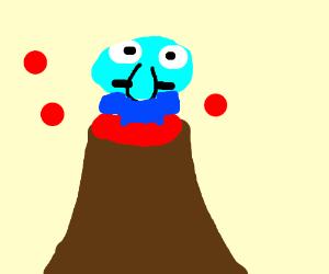 volcano squidward hero