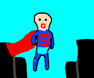 bald superman