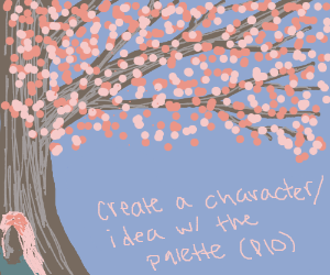 Create a character/idea with the palette!(pio)