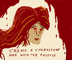 Create a character/idea with the palatte PIO