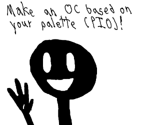Make an OC based on your Palette PIO