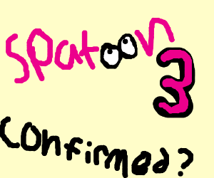 Splatoon 3 confirmed?