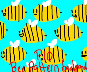 bee paternity background pio