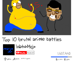 Top 10 Anime Battles Drawception